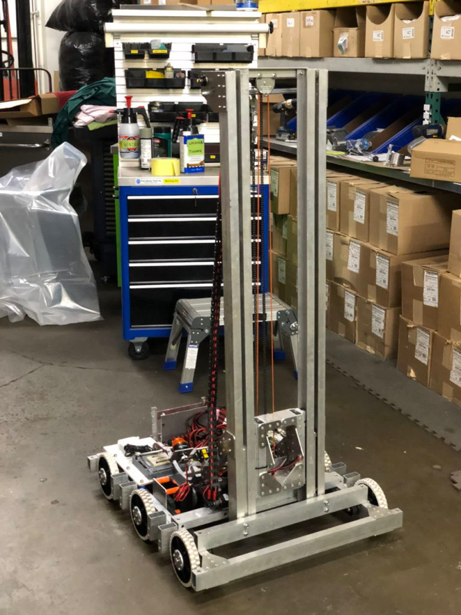 Clockwork Orange Robot 2019 M&R Engineering