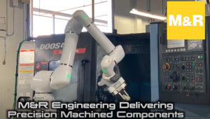 Using Robots for Automation in Machine Shop